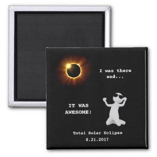 Total Solar Eclipse Magnet