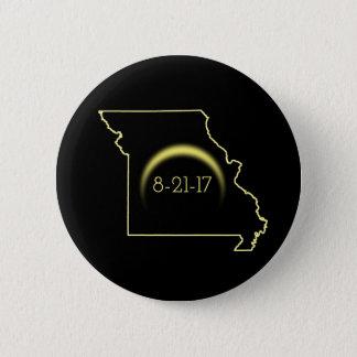 Total Solar Eclipse Missouri 2017 Button