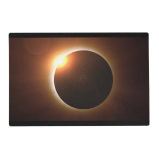 Total Solar Eclipse Placemat at Zazzle