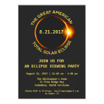 Total Solar Eclipse Viewing Party 8.21.2017 Usa Card at Zazzle