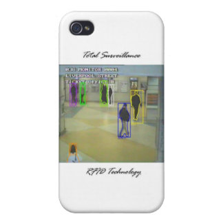 Total Surveillance iPhone 4 Cover