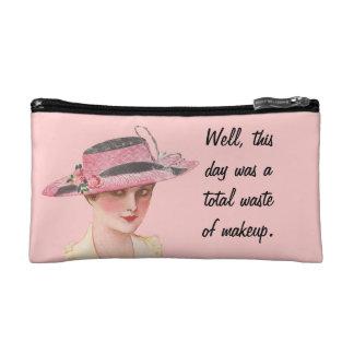 Total Waste of Makeup Cosmetic Bag