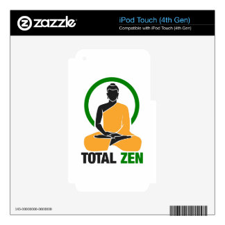 Total Zen - Peace, Tranquility, Relaxation Skin For iPod Touch 4G