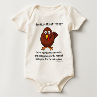 Totalitarian regimes restrict your diet baby bodysuit