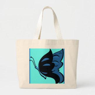 Totalizador enorme de la mariposa bolsa