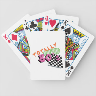 Totally 80's bicycle playing cards