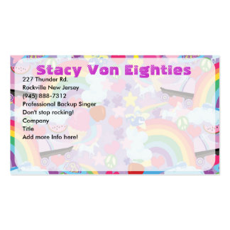 Totally 80's Business Card! Double-Sided Standard Business Cards (Pack Of 100)