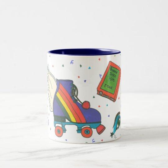 Totally 80's Icons Rollerskate Coffee Mug