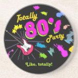 Totally 80's Party Coasters