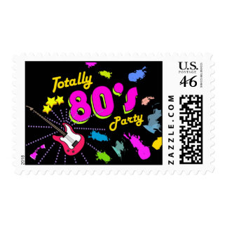 Totally 80s Party, Custom Postage Stamps