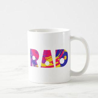 Totally 80s rad coffee mug