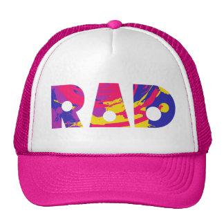 Totally 80s rad trucker hat