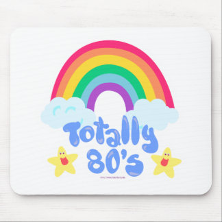 Totally 80s rainbow mousepad