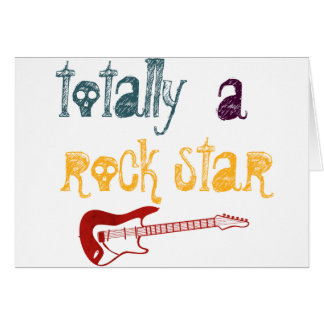 totally a rock star card