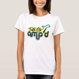 Totally Amp'd Blue Logo T-Shirt