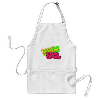 Totally and Incurably 80s Adult Apron