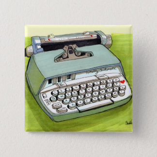 Totally Auto Matic Classic Typewriter Button