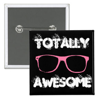Totally Awesome 2 Inch Square Button