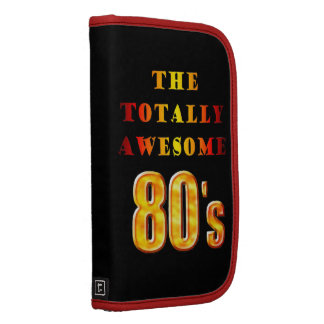 Totally Awesome 80s Folio Planners