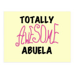 Totally Awesome Abuela Pink Tshirts and GIfts Postcard