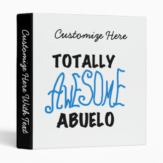Totally Awesome Abuelo Tshirts and Gifts Binder