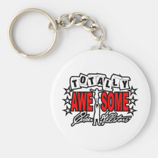 Totally Awesome(B)(zazzle) Basic Round Button Keychain