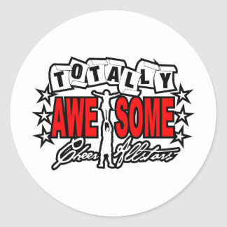 Totally Awesome(B)(zazzle) Classic Round Sticker