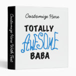 Totally Awesome Baba Tshirts and Gifts Vinyl Binders
