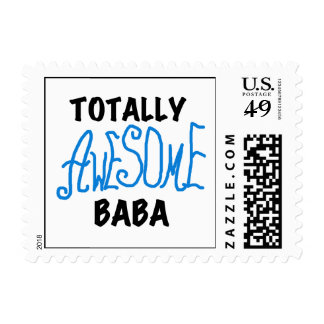 Totally Awesome Baba Tshirts and Gifts Stamps