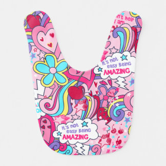 Totally awesome baby bib