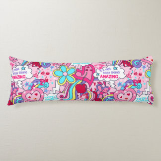 Totally awesome body pillow