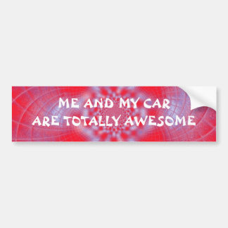 Totally Awesome Bumper Sticker