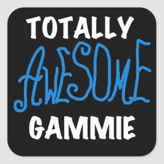 Totally Awesome Gammie Blue T-shirts and Gifts Stickers