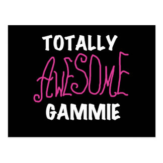 Totally Awesome Gammie Pink T-shirts and Gifts Postcard