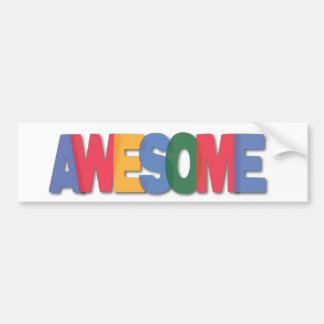 Totally Awesome Gifts Car Bumper Sticker
