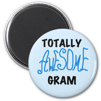 Totally Awesome Gram Blue Tshirts and Gifts Magnet