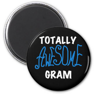 Totally Awesome Gram Blue Tshirts and Gifts Refrigerator Magnets