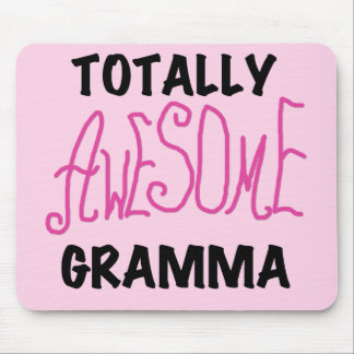Totally Awesome Gramma Pink Tshirts Gifts Mouse Pad
