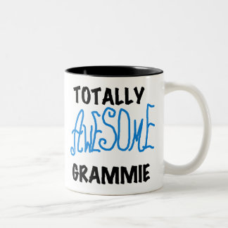Totally Awesome Grammie Blue T-shirts Gifts Mugs