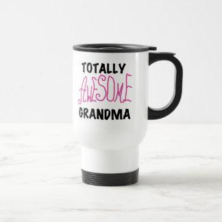 Totally Awesome Grandma - Pink Tshirts and Gifts Travel Mug
