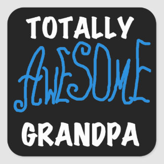Totally Awesome Grandpa T-shirts and Gifts Sticker