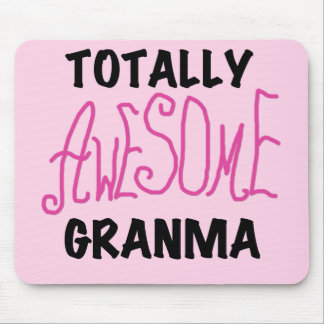Totally Awesome Granma Pink Tshirts and Gifts Mouse Pad