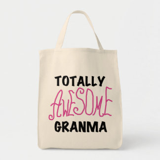 Totally Awesome Granma Pink Tshirts and Gifts Tote Bag