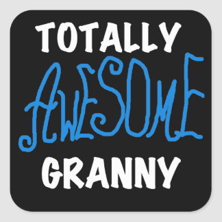 Totally Awesome Granny Blue T-shirts and Gifts Sticker
