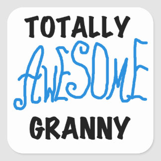 Totally Awesome Granny Blue Tshirts and Gifts Sticker