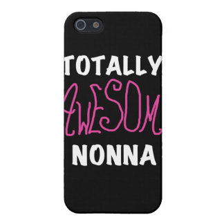 Totally Awesome Nonna Pink and Gifts Covers For iPhone 5