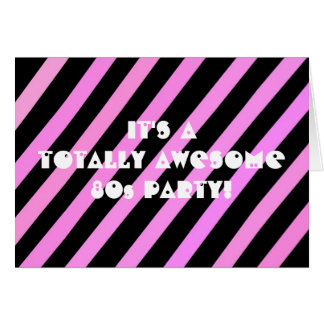Totally Awesome Party Greeting Cards