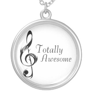 Totally Awesome Silver Plated Necklace