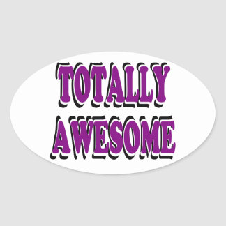 Totally Awesome Stickers in Purple