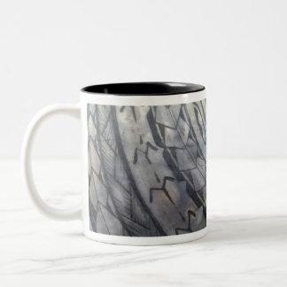 TOTALLY BADASS TRIBAL DESIGN Two-Tone COFFEE MUG